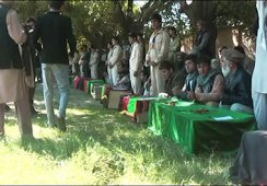 FUNERAL FOR 12 SCHOOL GIRLS WHO DIED IN BIBI HAJERA SCHOOL ROOF COLLAPSE IN TALUQAN, TAKHAR